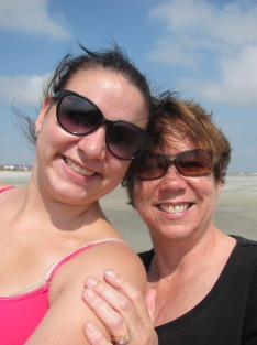 On the beach at Tybee Island