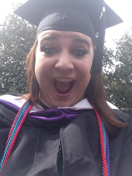 Graduation from Agnes Scott College 2013