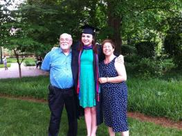 My parents and their college graduate